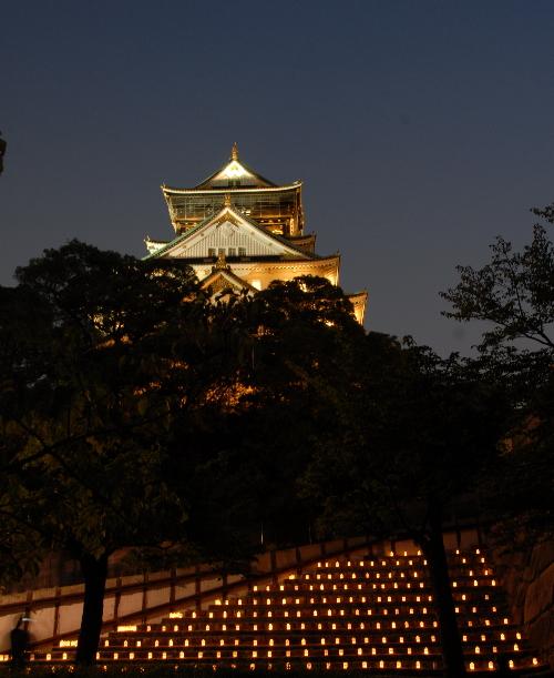 城灯りの景01