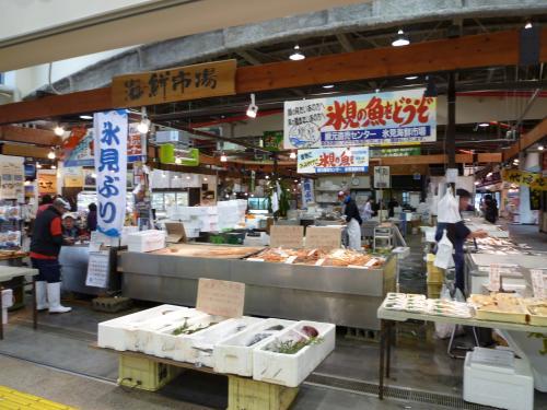 氷見海鮮市場
