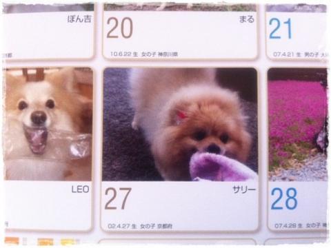 壁掛けカレンダーその2