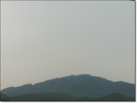 どんより比叡山
