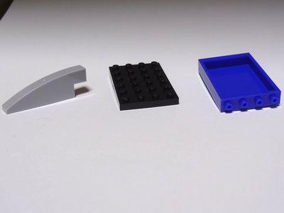 ナノブロックプラスのパーツD400