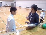 キャプテンにインタビュー(^^)