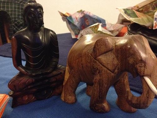 象とブッタ