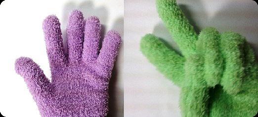 2お掃除手袋