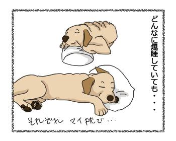 羊の国のラブラドール絵日記シニア!!「悩みとアイデア」1