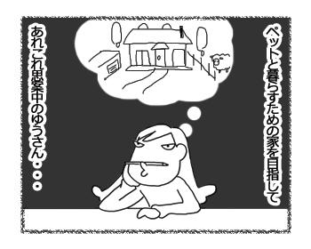 羊の国のラブラドール絵日記シニア!!「夢と現実」1