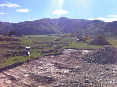 羊の国のラブラドール絵日記シニア!!「羊の国ファームの進行状況」写真日記1