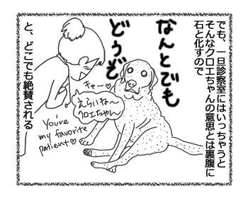 羊の国のラブラドール絵日記シニア!!「クロエちゃんの表裏」2