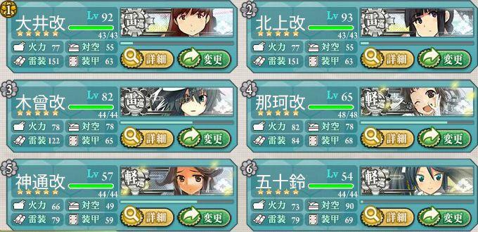 雷巡軽巡艦隊