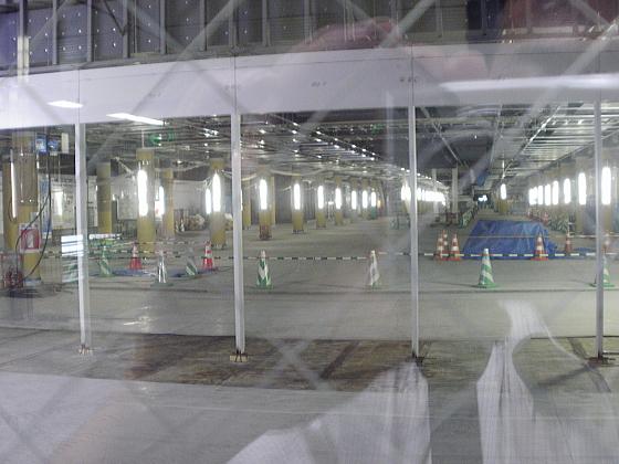 札幌駅と大通りを結ぶ地下道の工事写真です。