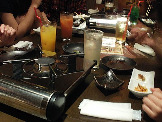 親戚家族で、食事会です。