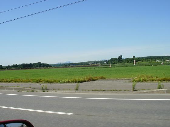 車は北広島方向に向かい、快適に飛ばして行きます。
