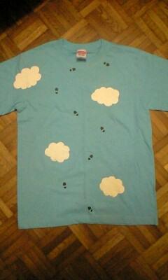 Tシャツ表面