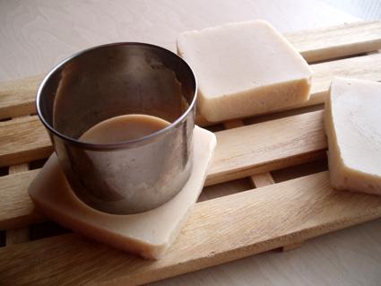 杏仁豆腐手作り石鹸04