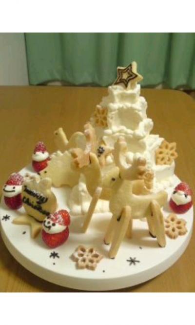 クリスマスケーキ2009