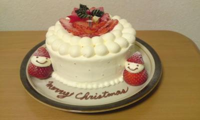 クリスマスケーキ2010