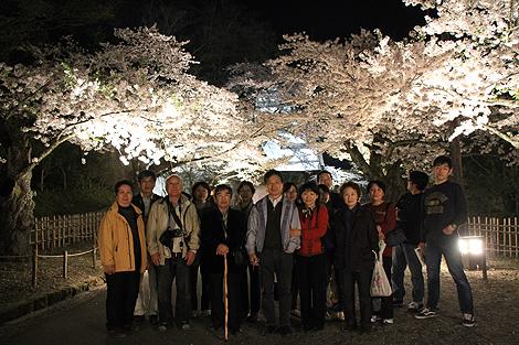 鶴ヶ城夜桜0428 015
