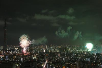 昨年8月の「隅田川花火大会」写真 ③