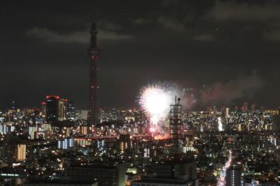 昨年8月の「隅田川花火大会」写真 ②
