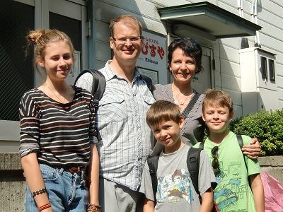 「団体室」のフィンランド家族