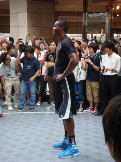 2011/8/31 六本木ヒルズ ドワイト・ハワード
