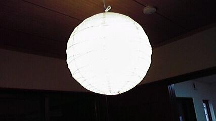 和室LED点灯