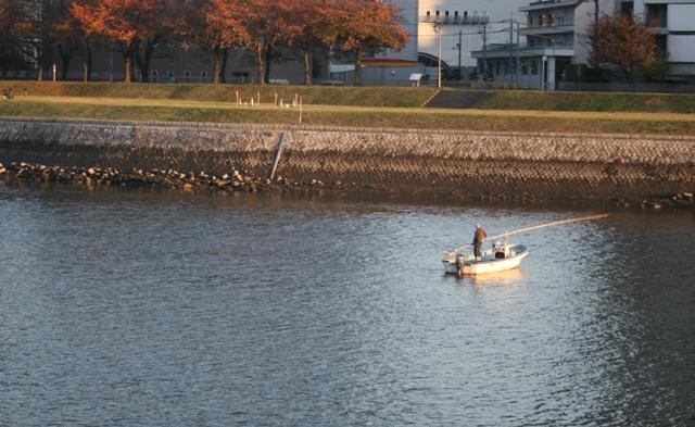 IMG_8304 大田川シジミ漁(三篠橋付近) W