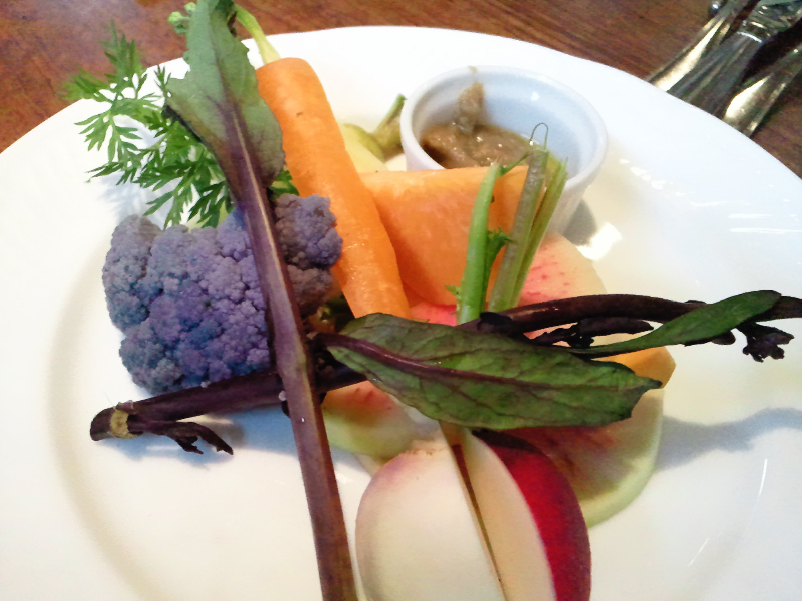 鎌倉野菜のバーニャカウダ@Rans