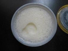 天然水かき氷練乳