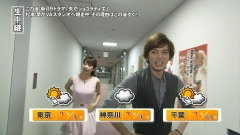 加藤綾子巨乳ノースリーブ画像