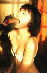 岡本玲擬似フェラ画像