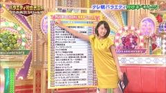 竹内由恵アナのボディライン画像