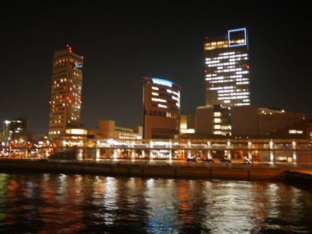 18時36分、高松港到着直前