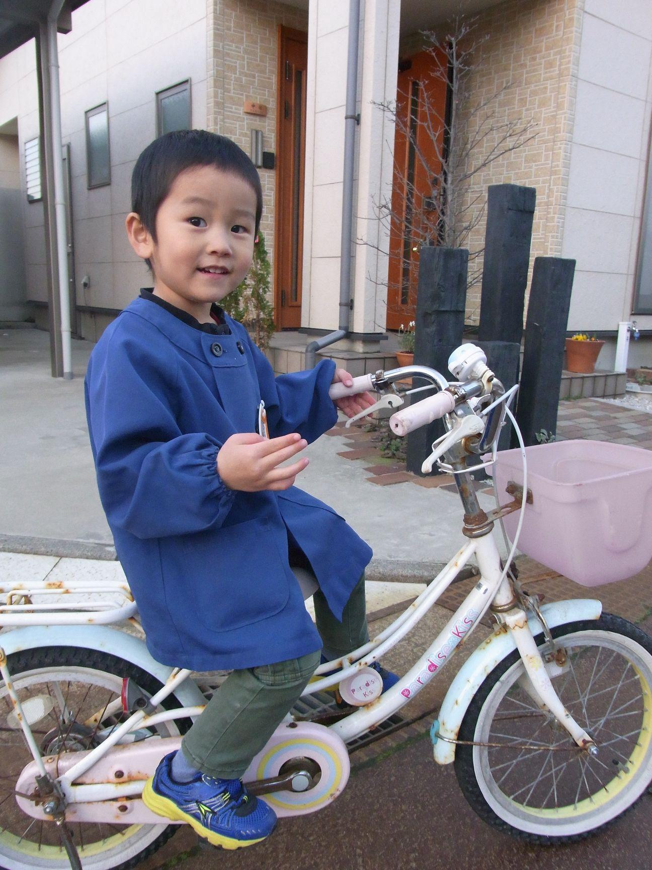 自転車好きのコウ