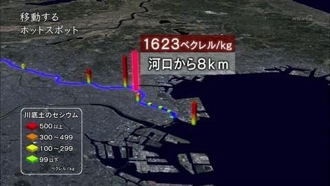 東京湾セシウム