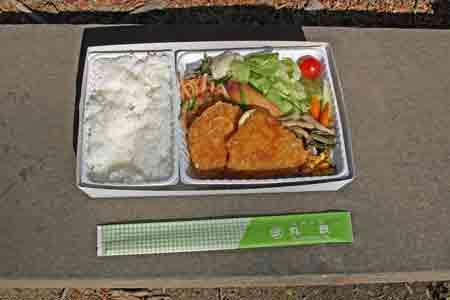 えきべん4高原野菜とカツの弁