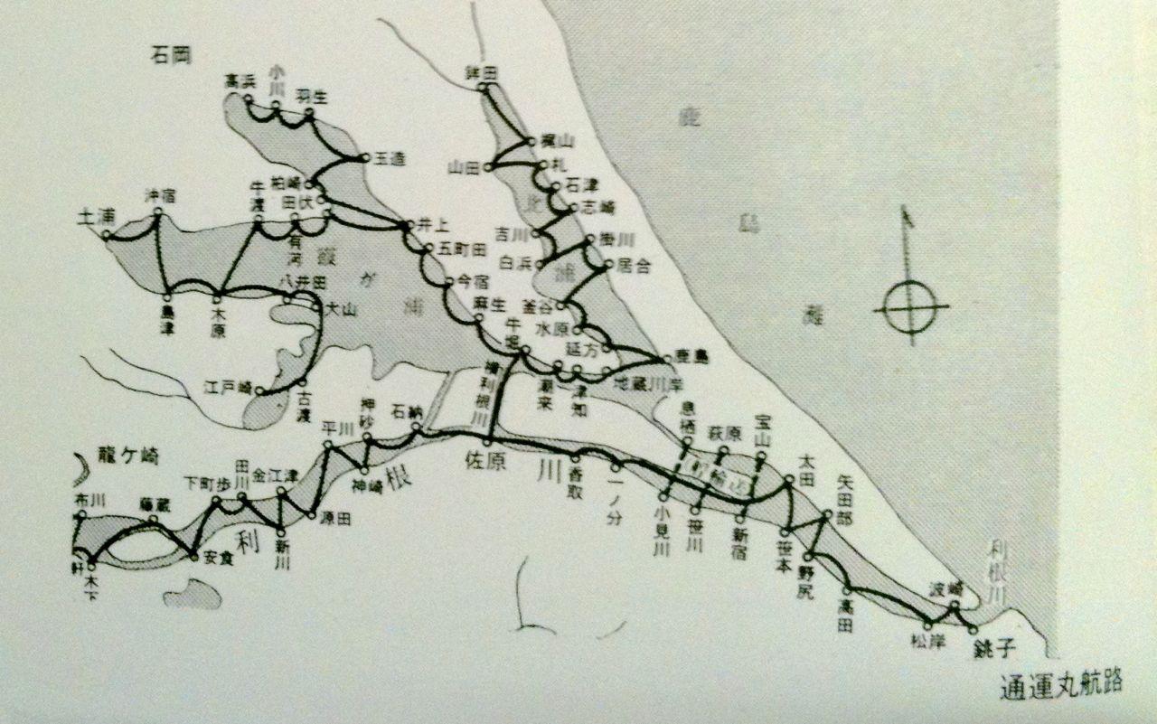 通運丸の航路