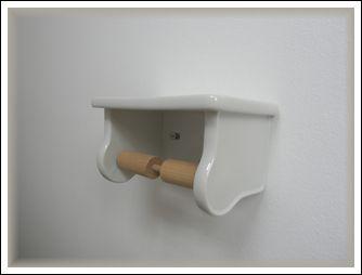 二階トイレペーパーホルダー