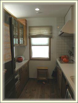 キッチン入り口から見る