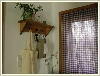 洗面所の棚