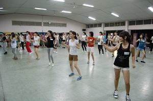 JKT48練習風景