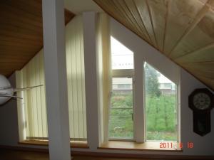 傾斜窓バーチカルブラインド(縦型ブラインド) デュアルスロープ2