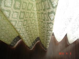 川島織物セルコン ソフトウェーブの裾