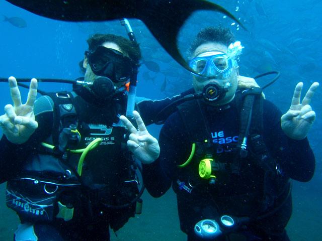 ギンガメアジ トランベン 体験ダイビング