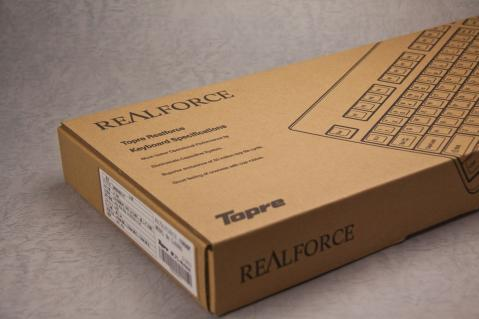 東プレ キーボード Realforce 箱