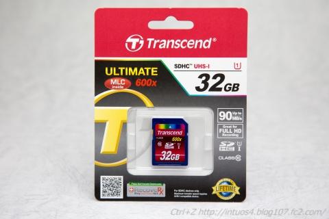トランセンド SDHC UHSI 32GB