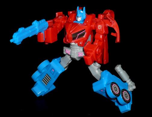 サイバトロン オプティマスプライム サイバトロンモード ロボットモード