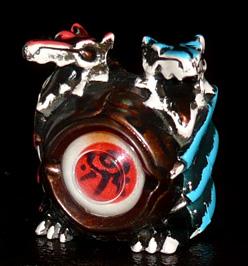 ガンダイス 018 水鏡の炎蛇雹龍
