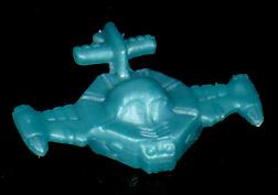 コリス フエラムネのおまけ オクタゴンスペースシップ(メタリック青)