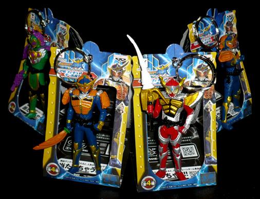 バンプレスト 仮面ライダー鎧武 リアルフィギュアキーホルダー